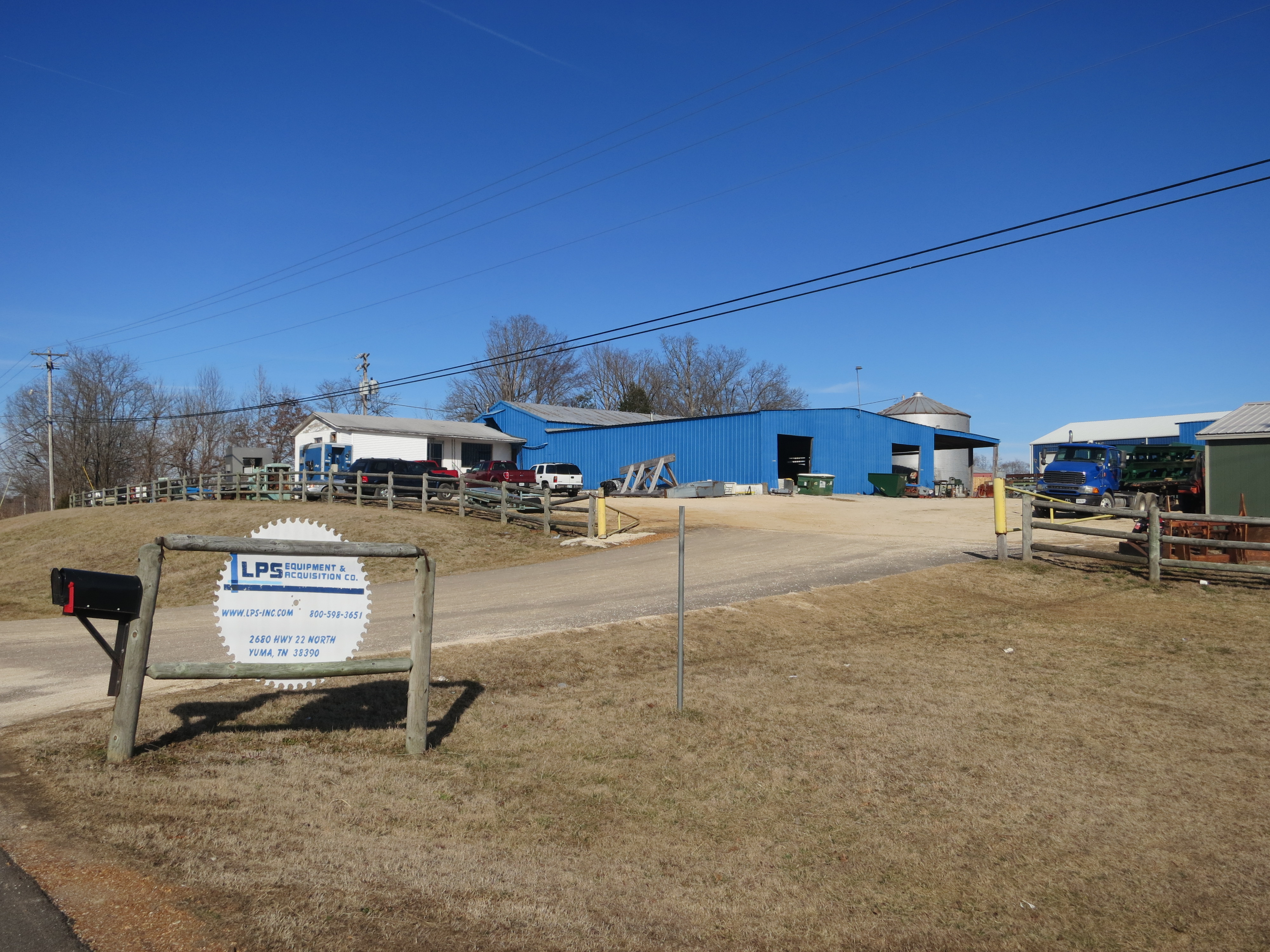 Tennessee carroll county clarksburg - Lps Equipment And Acquisition Company Is Located At 2680 Highway 22 North The Company Specializes In Pallet And Sawmill Equipment